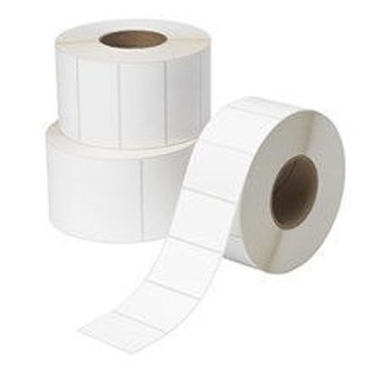 "Picture of 4.00"" X 4.00"" DT Paper Labels"